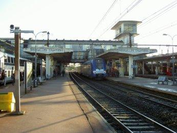 Gare des Chantiers pour Versailles plus