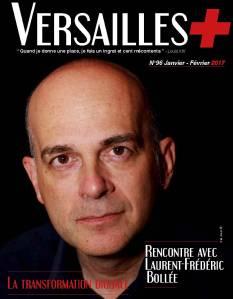 Couverture Laurent-Frédéric Bollée pour Versailles plus