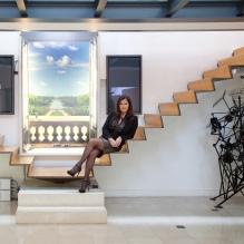 Odile Finck escalier pour Versailles plus