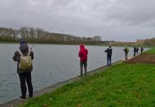 Pêcheurs pour Versailles plus